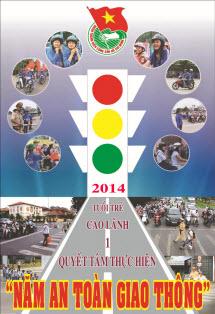 Logo hưởng ứng năm An toàn giao thông 2013