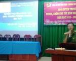 Trường THPT Cao Lãnh 1 tổ chức buổi tuyên truyền phòng, chống ma túy xâm nhập học đường